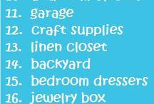 organising being organised