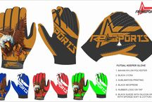 football gloves custome