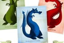 Dragons + Dinos /  Nurseries and cute 'daisy' stuff