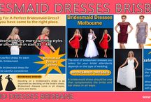 Bridesmaid Dresses Brisbane