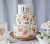 Wedding Cake + Desserts / Yummy wedding cakes and dessert ideas for my clients
