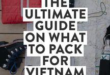 Vietnam travelling