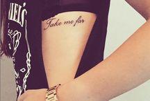 Tipografia tatuaje