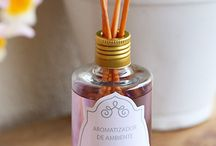 Sabonetes, aromatizantes, velas etc...