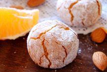 Pasta alle mandorle e arancia