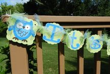 Baby showers and party ideas for Baby W! / by Robyn Woodward