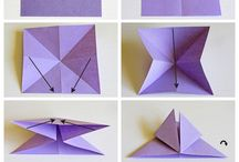 crafting, origami, diy