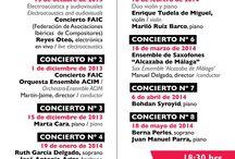 Conciertos - Concerts / Conciertos que tienen lugar en el Museo.