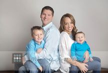 Studio family poses