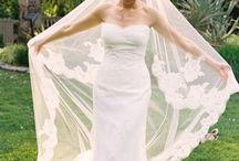 Wedding Veil Inspiration / Gossamer veil netting is so pretty and the finishing touch for a bride.  Looking for a unique design of veil or want to combine your wedding dress lace onto a personalised veil contact Iridescent Blush Blooms at iridescentblushblooms@netspace.net.au to custom make your bridal veil.
