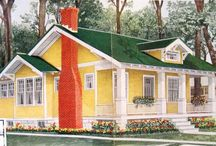 House Exteriors (early 1900s) / I'm a research junky. This board includes images from early 1900s catalogs, advertisements, period photographs and other relevant research sources for an early century Craftsman / Bungalow / Arts & Crafts style homes. / by Craftsman Junky