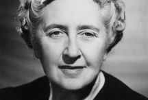 Agatha Christie / The queen of mystery, and one of our favorite playwrights.