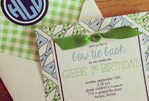 Wyatt's first birthday Ideas / by Kelli Lloyd