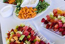 Wedding food..