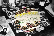 birthdaycard for special person :) / It is being made by my self I'm sorry if the pictures are not clear because I pick them by my blackberry's camera :p