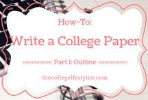 College / by Karissa King