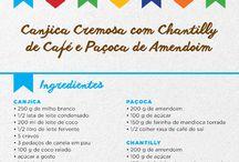 Receitas São João | 2016 / Receitas deliciosas e diferentes para arrasar nos arraiás de Junho.