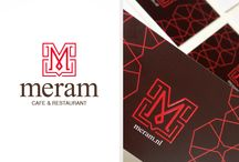 MERAM CAFE&RESTAURANT / Grapghic Design