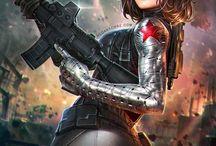 Winter Soldier Female