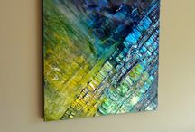 Pinturas de arte abstracto