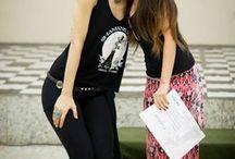 Rachel Brice e Paula Fallahi