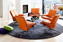Stressless / The Stressless furniture is one the most widely-respected furniture brands in the entire world.   Known for their commitment to making furniture which is kind to your back, circulation, and overall body - you will notice that this collection is also exceptional in terms of taste and style.