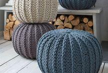 Knitting, handmade / Sticka, gjort för hand