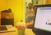 At The Office / A little insight into what happens at the KiMedia Strategies office.