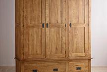 Wardrobe hardwood