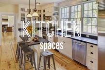 Kitchen Spaces / Some of our favorite kitchen spaces