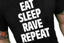 Eat Sleep Rave Repeat Shirts
