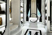 ♦ Dressing Room for 80s Green Bedroom ♦