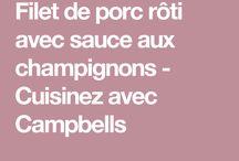 Filet porc camb champi