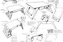 Stół rysunek