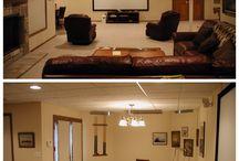 Basements / Basement remodels, work out room, game rooms, bar, kitchenette, bedrooms, bathrooms