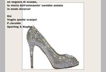 sCARPE - sHOES / l'unica donna che, poverina, non ha potuto vivere l'esaltante momento dell'acquisto di un paio di scarpe fu... Eva, forse se da quelle parti ci fosse stato un negozio di scarpe, la storia dell'unìmanita' sarebbe andata in modo diverso!  Da: Voglio quelle scarpe! P.Jacobbi Sperling & Kupfer