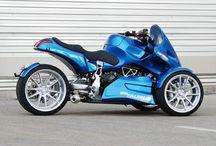 Motorcycle trikes / Three wheeled freedom riders
