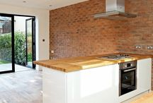 Red Brick Slips / Completed Project using Red Brick Slips from Kuci Design
