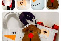 bolsas de dulces navideñas