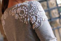 детали, декор одежды, комбинирование