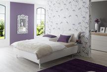 gris y violeta