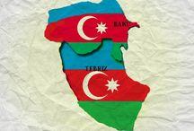 Azerbaycan Xeritesi / Butov Azerbaycan - Boyuq Azerbaijan