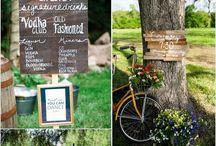 Wedding board - signs
