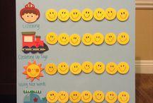 Toddler Reward chart ideas