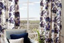 Curtains and Upholstery / A collection of fabric inspiration for curtains and upholstery