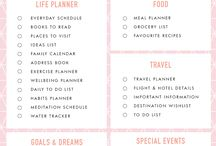 Get Organised - Planner Inspiration