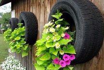 Neumáticos / Como reutilizar los Neumáticos