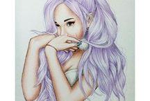 ArianaGrande рисунки ✏️