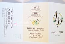 La Crafterie / French wedding paperie | Papeterie de mariage / by La Crafterie