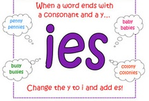 """y to """"ies"""""""